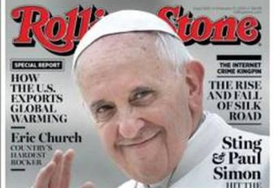 La copertina di Rolling Stone