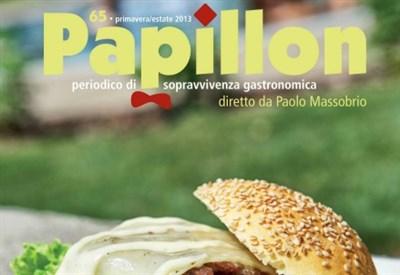 """Una parte della copertina di """"Papillon"""""""