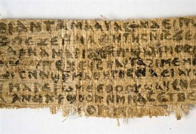 Il papiro in discussione