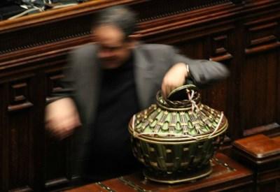 Le votazioni per il nuovo capo dello Stato (Infophoto)