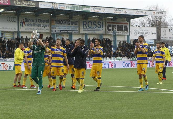 Video Ascoli Parma (LAPresse)