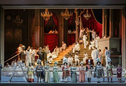 ROSSINI/ Il viaggio a Reims all'Opera di Roma