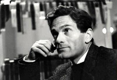 Pier Paolo Pasolini (1922-1975) (Immagine d'archivio)
