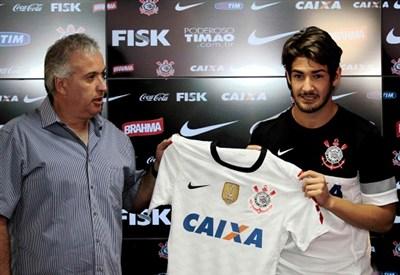 Alexandre Pato, attaccante Corinthians (Foto Infophoto)