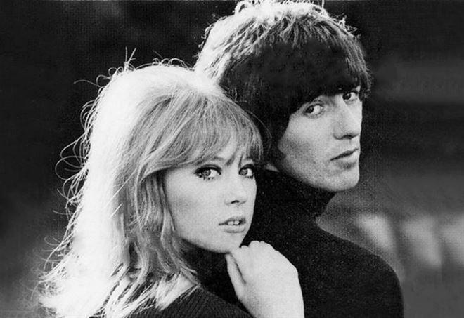Pattie Boyd e George Harrison