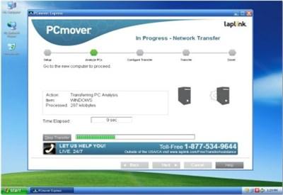 Laplink PC Mover