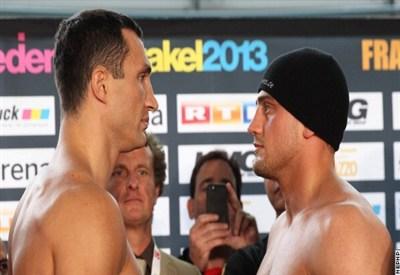 Wladimir Klitschko e Francesco Pianeta