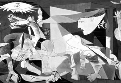 Pablo Picasso, Guernica (particolare) (1937)