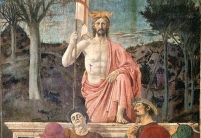 Piero della Francesca, Resurrezione (1450-1463) (Immagine d'archivio)