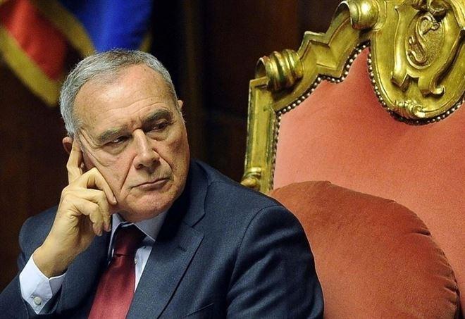 Pietro Grasso, presidente del Senato (LaPresse)