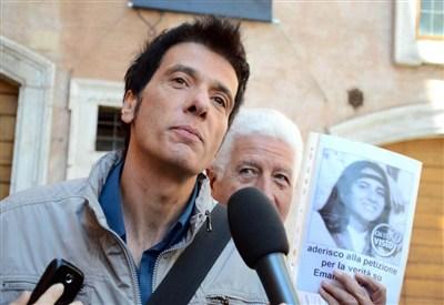 Pietro Orlandi, fratello di Emanuela (Infophoto)