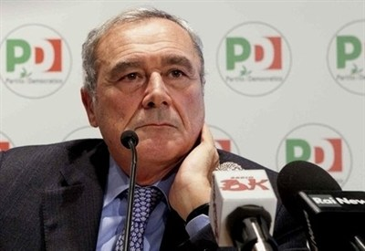 Pietro Grasso, presidente del Senato (Infophoto)