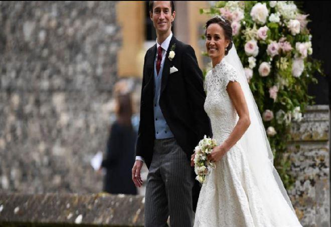 Pippa Middleton sposa