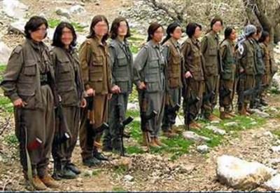Terroriste curde del PKK