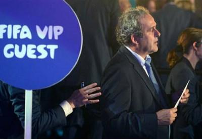 Michel Platini, 59 anni, presidente della UEFA (Infophoto)