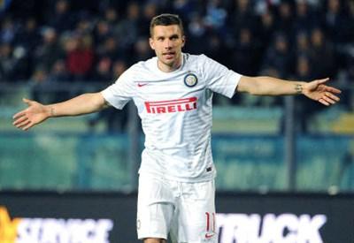 Lukas Podolski, 29 anni, tedesco (INFOPHOTO)