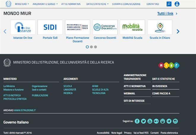 Nuovo portale Miur, Istanze OnLine e Webmail