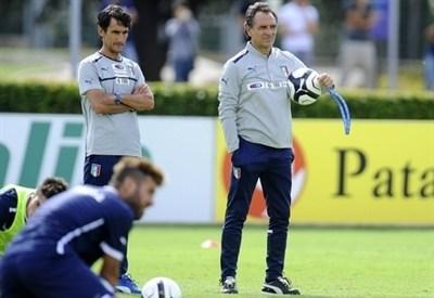 Prandelli prepara il match contro Malta (Infophoto)
