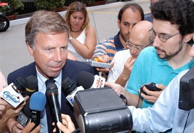 Enrico Preziosi, presidente Genoa (Infophoto)