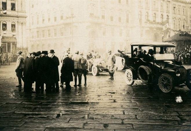 Trieste, 4 novembre 1918 (Foto da itinerarigrandeguerra.it)
