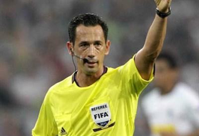 Il portoghese Pedro Proença, 44 anni, arbitro di Setif-Auckland City (INFOPHOTO)