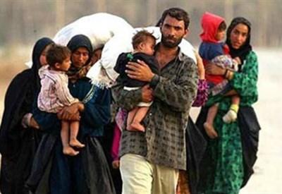 Profughi siriani (Infophoto)