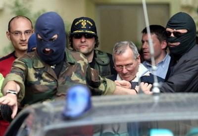 L'arresto di Bernardo Provenzano (Infophoto)
