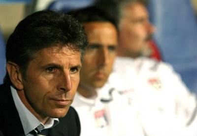 Claude Puel, 54 anni, allenatore del Nizza ed ex Lione (INFOPHOTO)