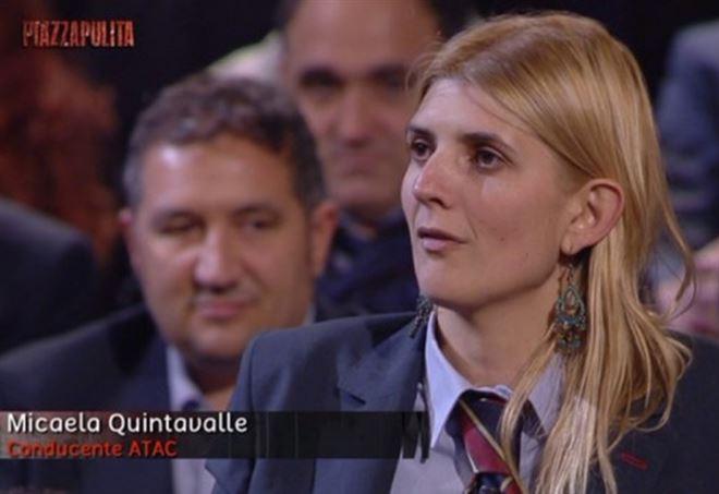 La sindacalista e autista Quintavalle - La7