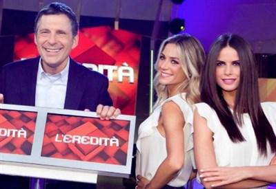 Fabrizio Frizzi conduce L'eredità (LaPresse)