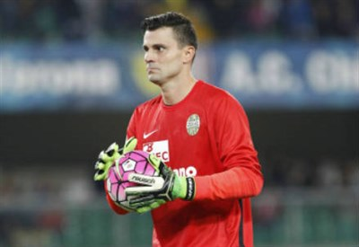 Rafael, 33 anni, portiere dell'Hellas Verona (INFOPHOTO)