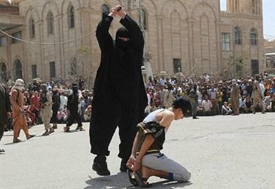 Il ragazzo decapitato, foto dal web