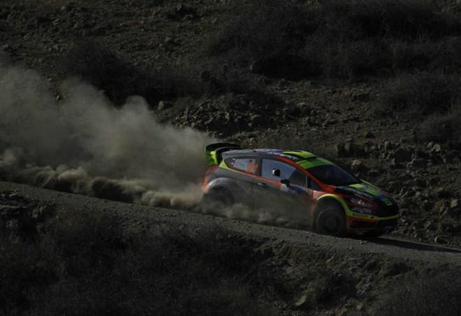 Incidente al Rally Rose N' Bowl di San Marino (LaPresse)