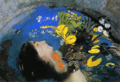 Odilon Redon, Ophelia (1903 c.a) (Immagine d'archivio)