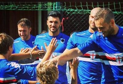 (dall'account Twitter ufficiale @sampdoria)