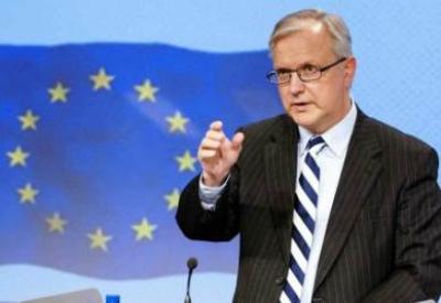 Il vicepresidente dell'esecutivo Ue, Olli Rehn (InfoPhoto)