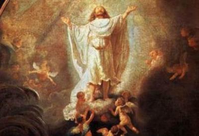 Rembrandt, Ascensione di Cristo (1636; immagine d'archivio)