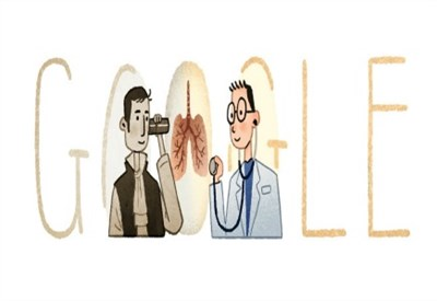 René Laennec, il Doodle di Google per il 235esimo anniversario