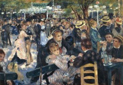 Renoir, Bal au Molin de la Galette (1876; immagine d'archivo)