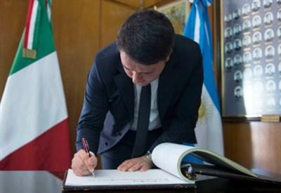 Matteo Renzi in Argentina (Foto T. Barchielli da governo.it - licenza CC-BY-NC-SA 3.0 IT)