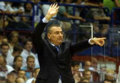Jasmim Repesa, allenatore dell'Olimpia Milano (Infophoto)