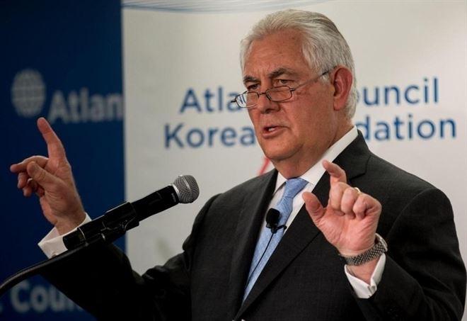 Rex Tillerson, segretario di Stato Usa (LaPresse)