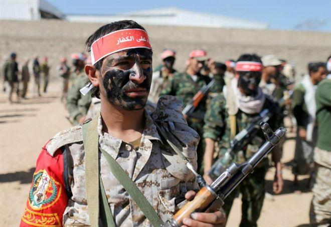 Ribelli yemeniti (LaPresse)