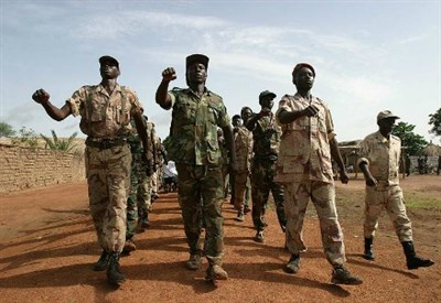 Seleka rebels (Archive)