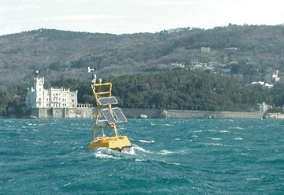 Rilievi marini al largo di Trieste