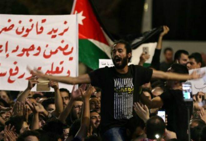 Manifestazioni in Giordania
