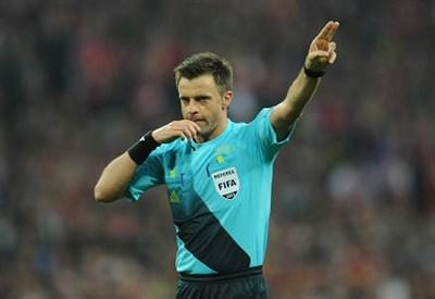 L'arbitro Nicola Rizzoli, 43 anni (INFOPHOTO)