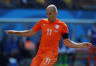 Arjen Robben, 30 anni (INFOPHOTO)