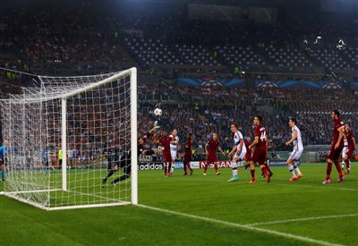 Il gol di Robben che ha sbloccato il risultato (da Facebook UEFA Champions League)
