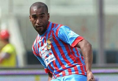 Alexis Rolin, 24 anni, difensore uruguaiano del Catania (INFOPHOTO)